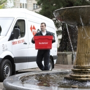 seguro furgonetas servicio público